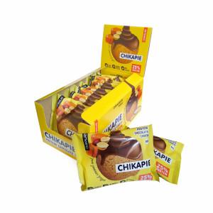 Печенье глазированное с начинкой BombBar CHIKALAB  60г Арахис