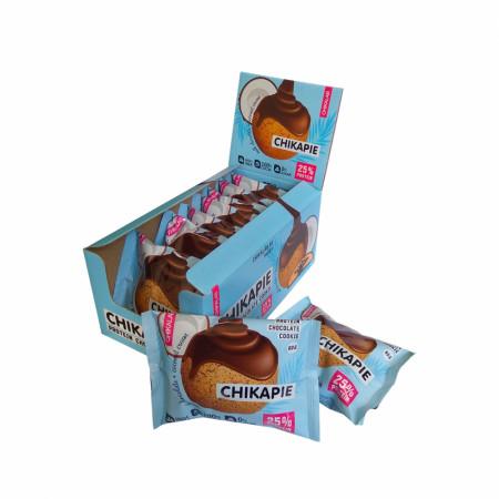 BombBar CHIKALAB Печенье глазированное с начинкой 60г кокос