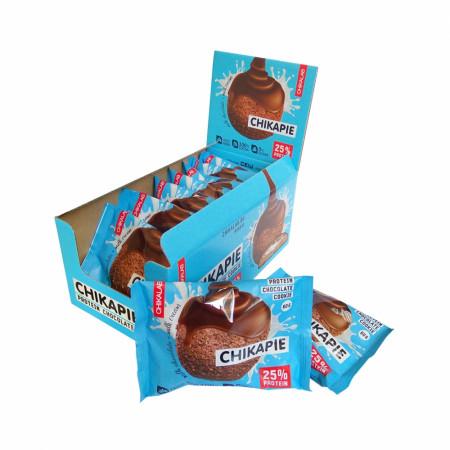 BombBar CHIKALAB Печенье глазированное с начинкой 60г  шоколад