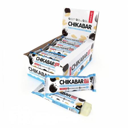 Батончик глазированный Bombbar CHIKALAB  60г Хрустящее печенье