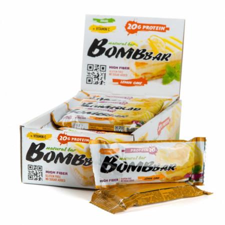 Протеиновый батончик Bombbar 60г Лимонный торт