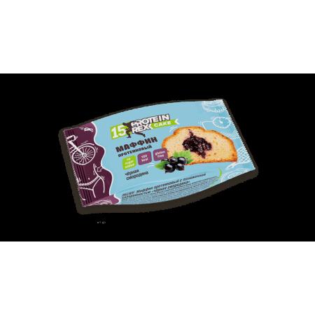 Маффин протеиновый Rex Чёрная смородина 40г
