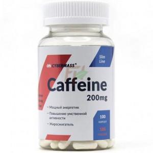 Кофеин Cybermass Caffeine 200 mg 100 капсул