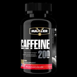 Кофеин Maxler Caffeine 200 mg 100 капс