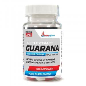 Гуарана WestPharm Guarana 60 капсул