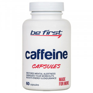 Кофеин Be First Caffeine 60 капсул