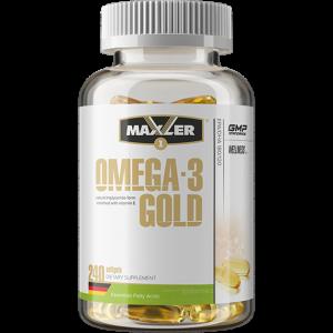 Омега-3 Maxler Gold Omega 240 капсул