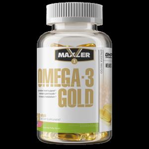 Омега-3 Maxler Omega-3 Gold 120 капсул (USA)