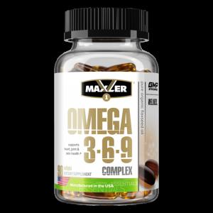 Омега 3-6-9 Maxler Omega 3-6-9 Сomplex 90 мягких капсул