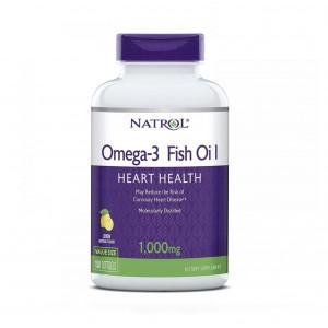 Омега-3 NATROL Omega 3 1000 mg 150 мягких капсул