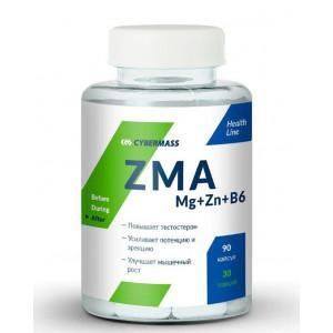ЗМА Cybermass ZMA Mg+Zn+B6 90 капсул