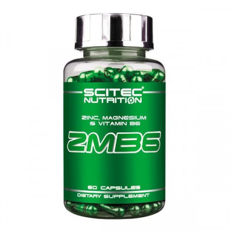ЗМА+Б-6 Scitec Nutrition ZMB 6 60 капсул