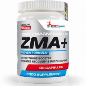 ЗМА WestPharm ZMA+ 90 капсул