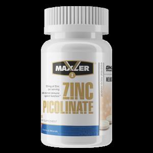 Цинк Maxler Zinc Picolinate 50 mg 60 таблеток