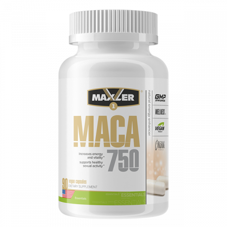 Мака Maxler Maca 750  Concentrate 90 vegan капсул