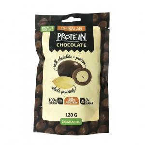 Драже арахис в шоколаде BombBar CHIKALAB 120г