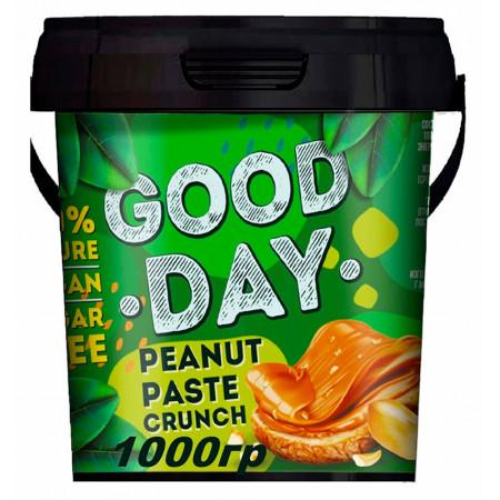 Арахисовая паста хрустящая GOOD DAY  300 гр