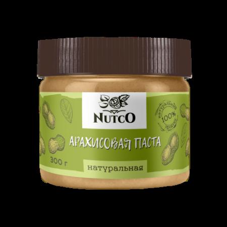 Арахисовая паста натуральная NUTCO 300г