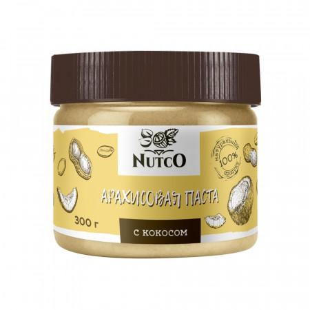 Арахисовая паста с кокосом NUTCO 300г
