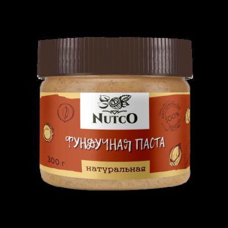 Фундучная паста натуральная NUTCO 300г