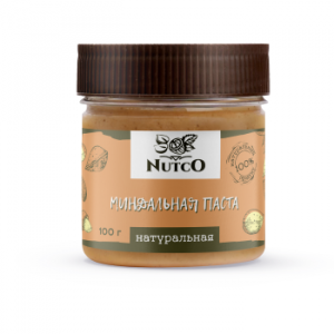 Миндальная паста натуральная NUTCO 100 гр