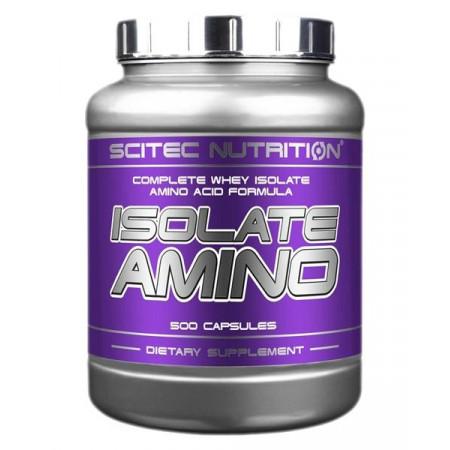 Аминокислоты Scitec Nutrition Isolate Amino 500 капсул