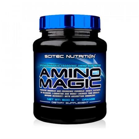 Аминокислоты в порошке Scitec Nutrition Amino Magic 500г  Апельсин