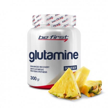 Глютамин Be First Glutamine powder 300гр ананас