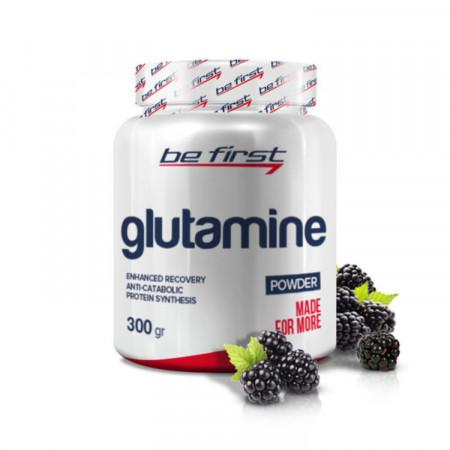 Глютамин Be First Glutamine powder 300гр Ежевика