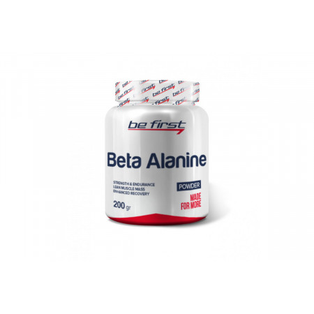 Бета-аланин  Be First Beta alanine  powder 200гр