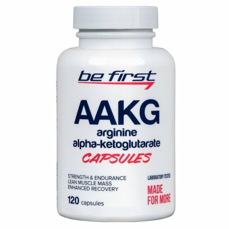 ААКГ  Be First AAKG  Capsules 120 caps