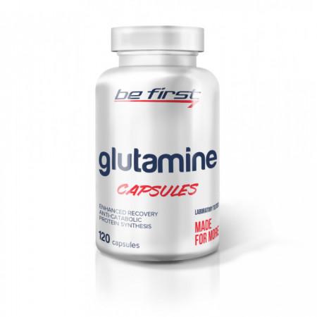 Глютамин Be First Glutamine 120 капсул