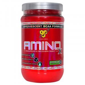 Аминокислоты BSN Amino-X 435г Зеленое яблоко
