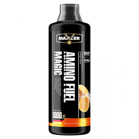 Аминокислоты жидкие Maxler Amino Magic Fuel апельсин 1000мл