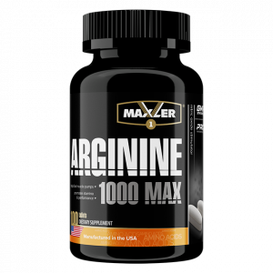 Аминокислоты Maxler Arginine 1000 max 100 таблеток