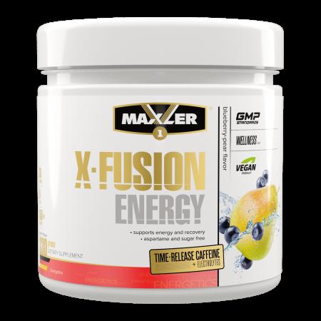 Аминокислоты в порошке Maxler X-Fusion Energy 330г черника-груша