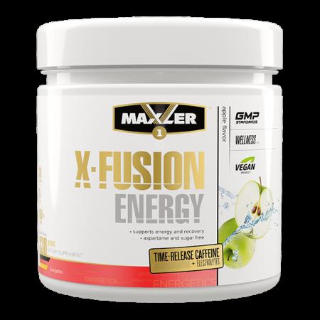 Аминокислоты в порошке Maxler X-Fusion Energy 330г яблоко