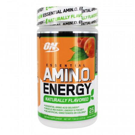 Аминокислоты в порошке ON Essential Amino Energy Naturally 25 порций персиковый чай