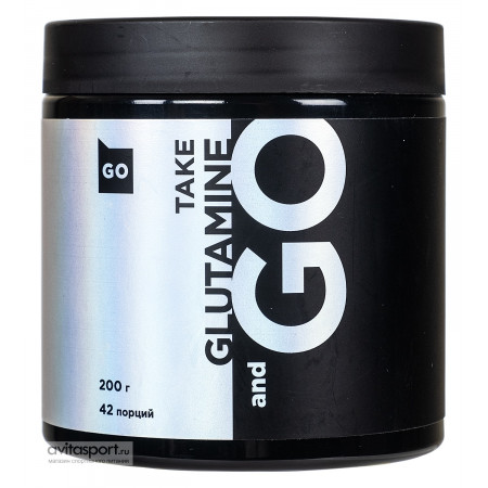 Глютамин TAKE and Go Glutamine 200г