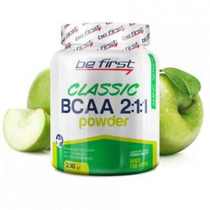 Be First BCAA 2:1:1 CLASSIC powder 200г Яблоко