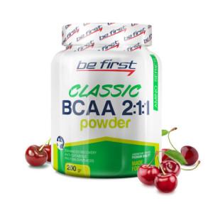 Be First BCAA 2:1:1 CLASSIC powder 200г Вишня