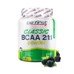 Be First BCAA 2:1:1 CLASSIC powder 200г Ежевика