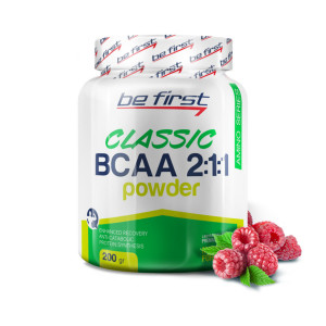 Be First BCAA 2:1:1 CLASSIC powder 200г Малина