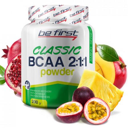 Be First BCAA 2:1:1 CLASSIC powder 200г Экзотик