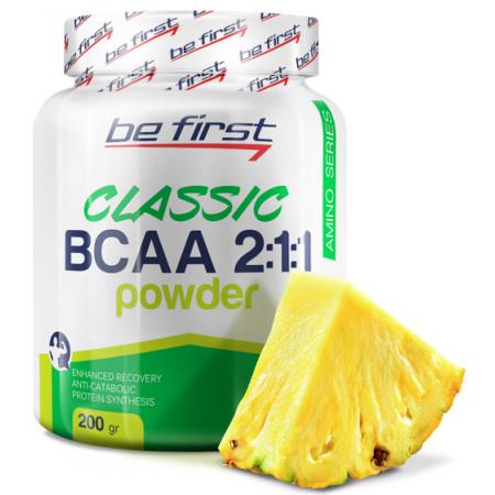 Be First BCAA 2:1:1 CLASSIC powder 200 г ананас