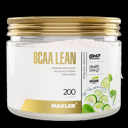 Maxler BCAA Lean (vegan BCAA/Fibers) 200г огуречная мята