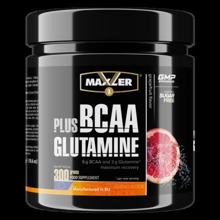 Maxler BCAA + Glutamine 300 g GRAPEFRUIT