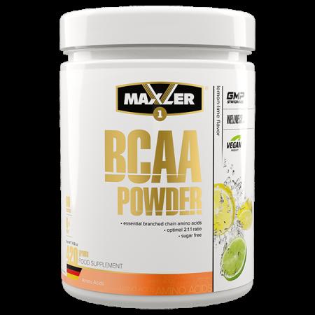 Maxler BCAA Powder 2:1:1 Sugar Free (DE) 420г Лимон-лайм