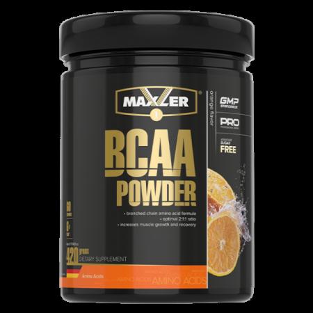 Maxler BCAA Powder 2:1:1 Sugar Free (DE) 420г Апельсин