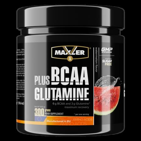 Maxler BCAA + Glutamine 300 g WATERMELON